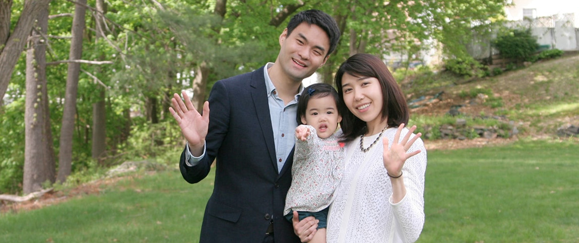 Dr. Lee and his family